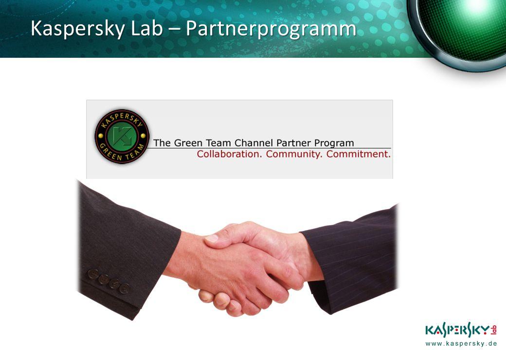 Kaspersky Lab – Partnerprogramm