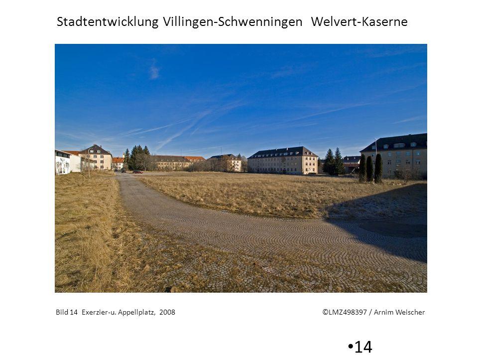 Stadtentwicklung Villingen-Schwenningen Welvert-Kaserne 14 Bild 14 Exerzier-u. Appellplatz, 2008 ©LMZ498397 / Arnim Weischer