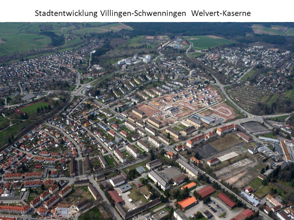 Stadtentwicklung Villingen-Schwenningen Welvert-Kaserne Wo liegt das Welvert-Areal?