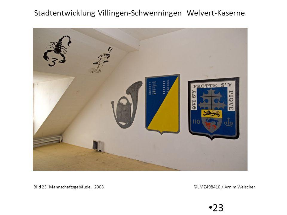 Stadtentwicklung Villingen-Schwenningen Welvert-Kaserne 23 Bild 23 Mannschaftsgebäude, 2008 ©LMZ498410 / Arnim Weischer