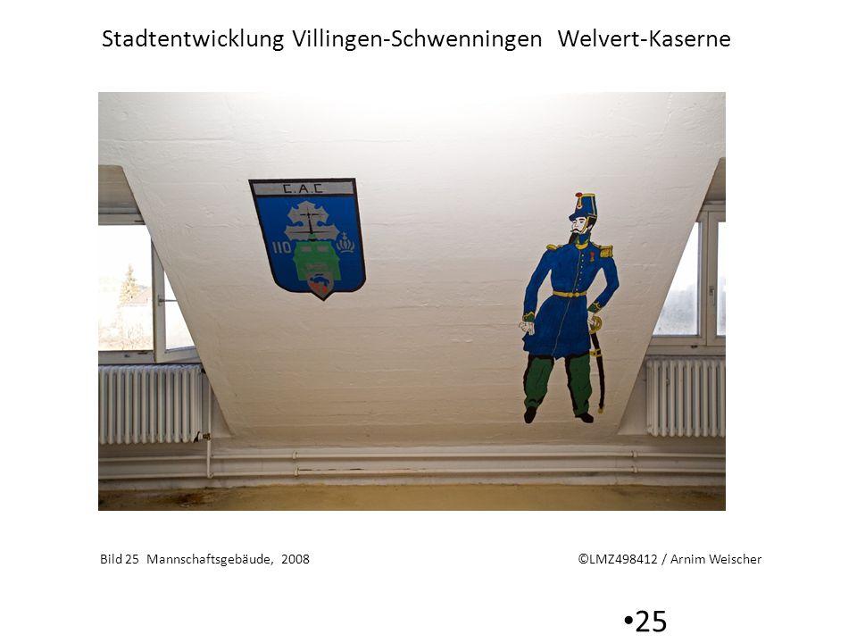 Stadtentwicklung Villingen-Schwenningen Welvert-Kaserne 25 Bild 25 Mannschaftsgebäude, 2008 ©LMZ498412 / Arnim Weischer