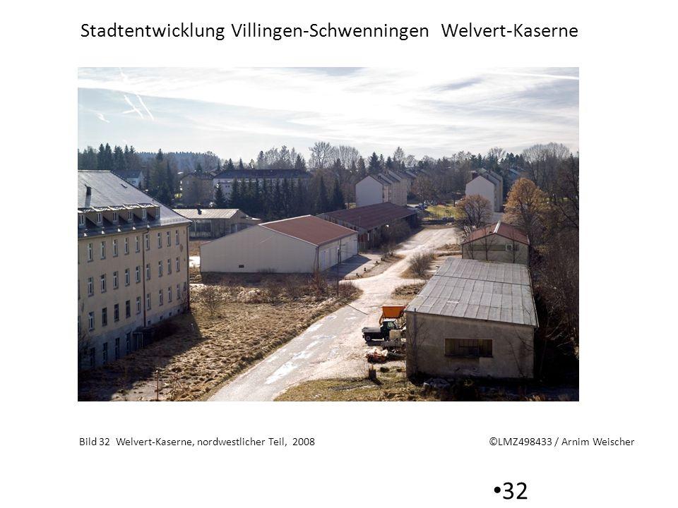 Stadtentwicklung Villingen-Schwenningen Welvert-Kaserne 32 Bild 32 Welvert-Kaserne, nordwestlicher Teil, 2008 ©LMZ498433 / Arnim Weischer