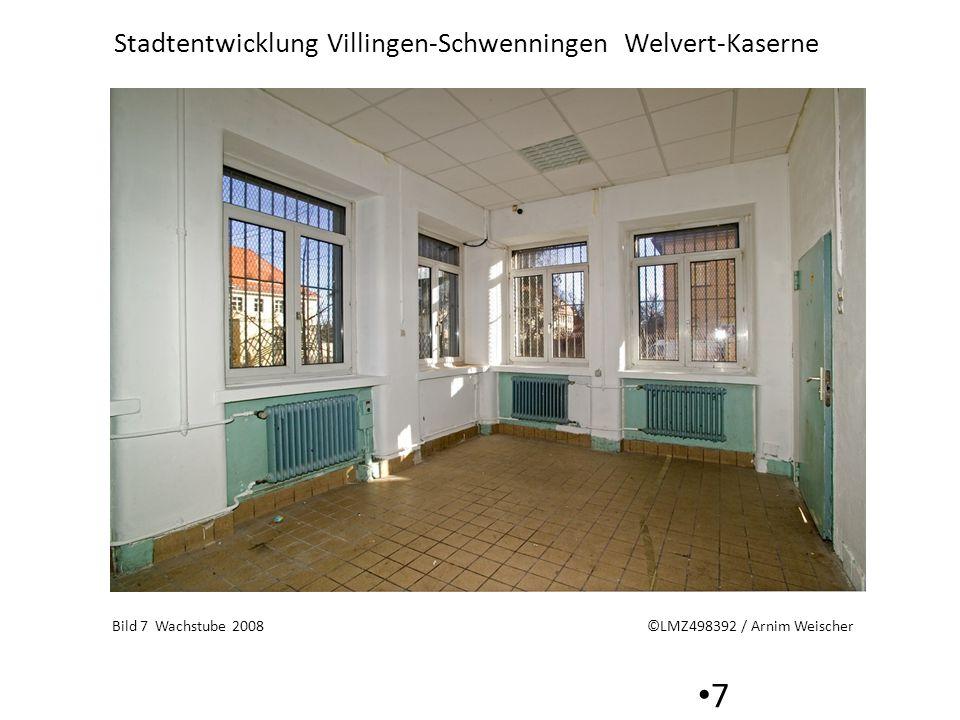 Stadtentwicklung Villingen-Schwenningen Welvert-Kaserne 7 Bild 7 Wachstube 2008 ©LMZ498392 / Arnim Weischer