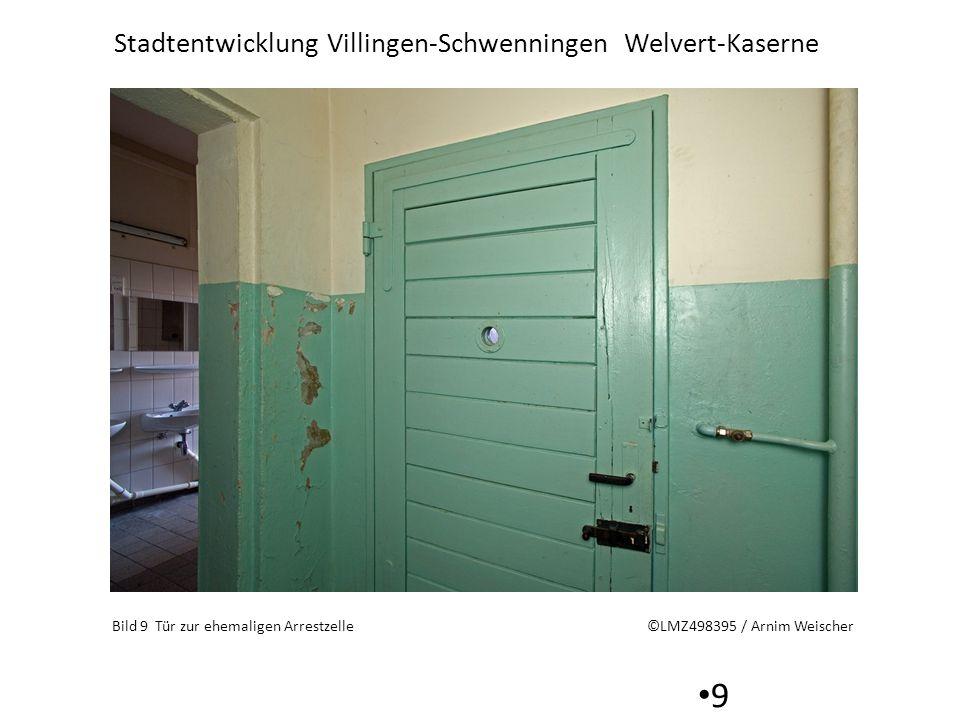 Stadtentwicklung Villingen-Schwenningen Welvert-Kaserne 10 Bild 10 Tür zur Waffenkammer 2008 ©LMZ498390 / Arnim Weischer