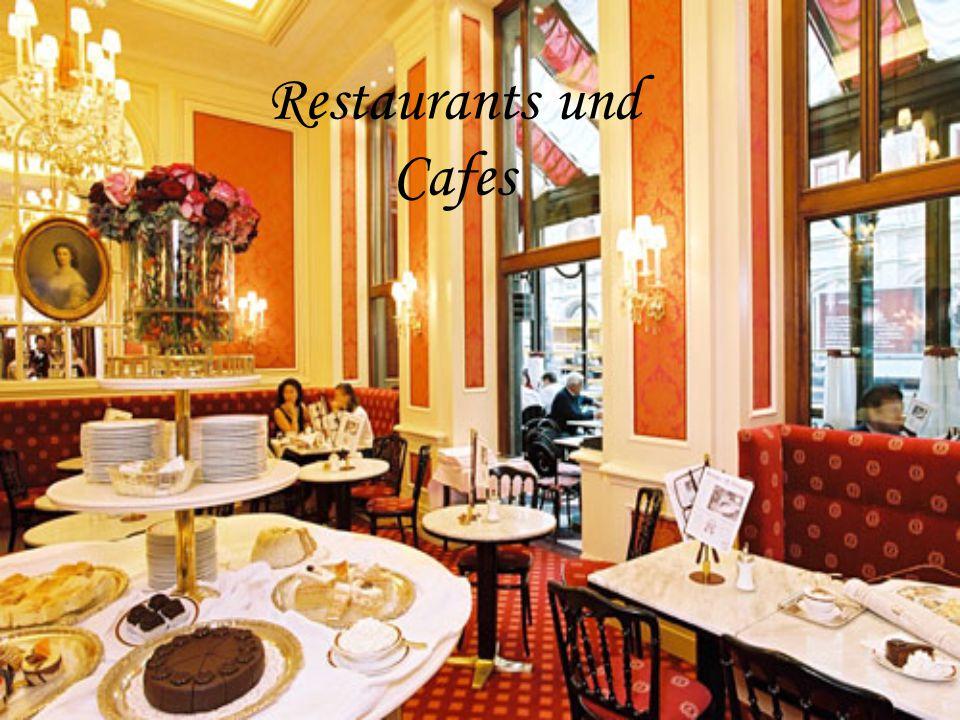 Restaurants und Cafes