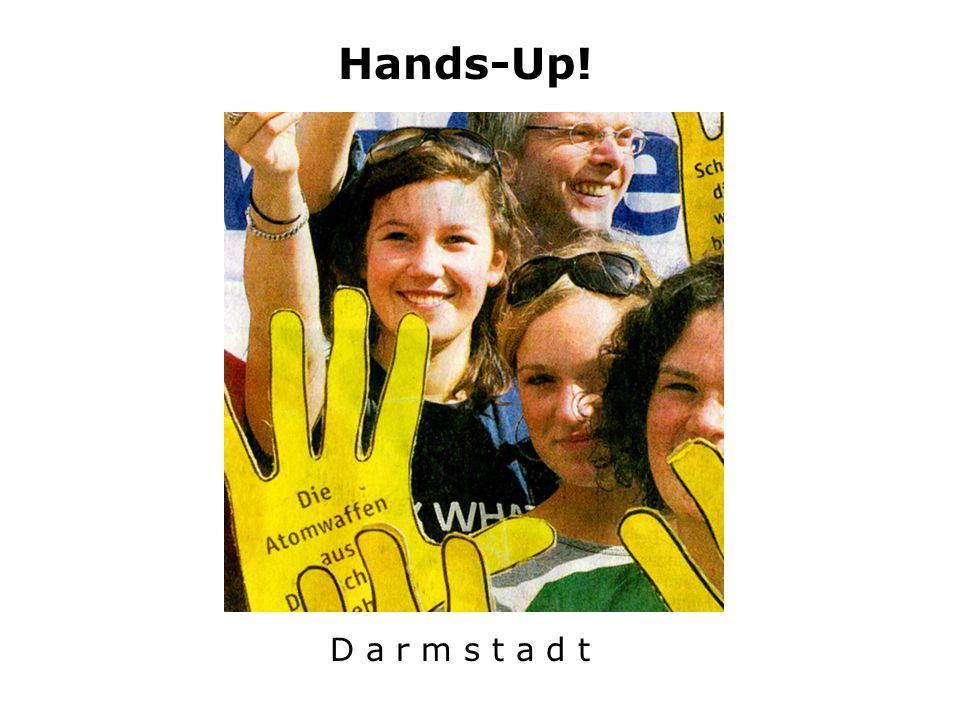 Hands-Up! D a r m s t a d t