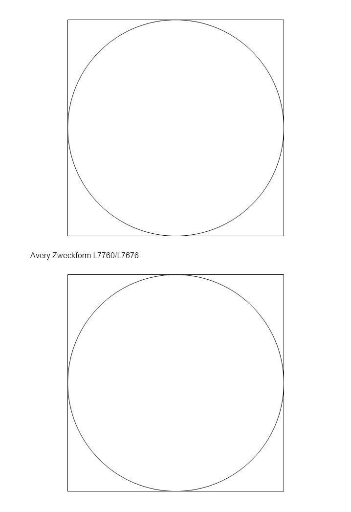 Avery Zweckform L7760/L7676