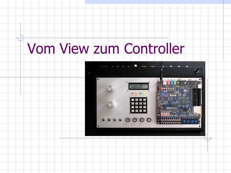 Vom View zum Controller