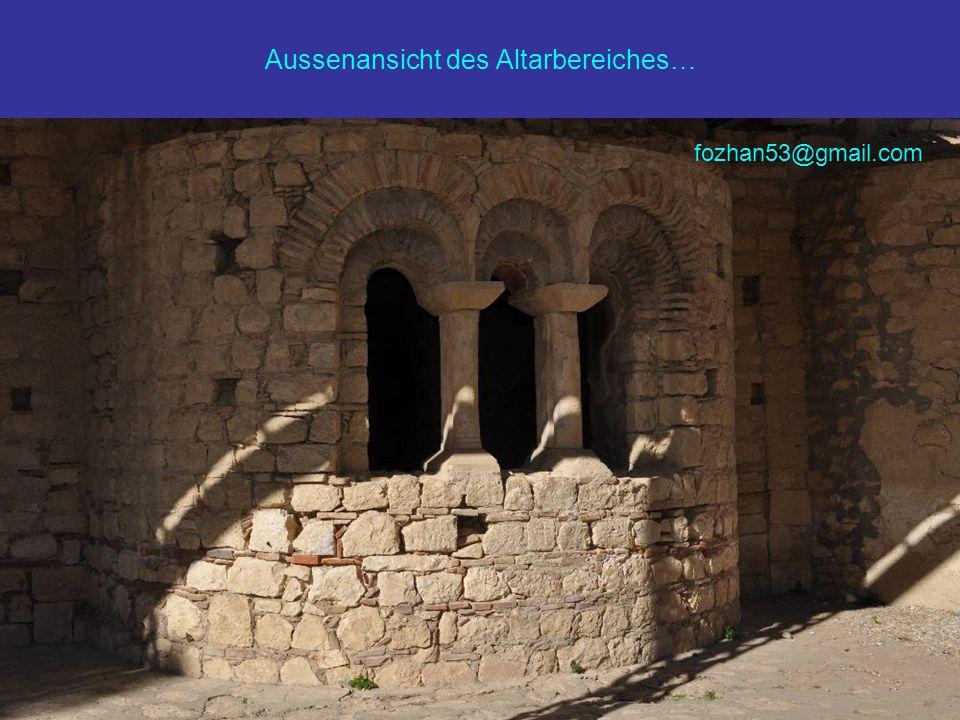 Aussenansicht des Altarbereiches… fozhan53@gmail.com