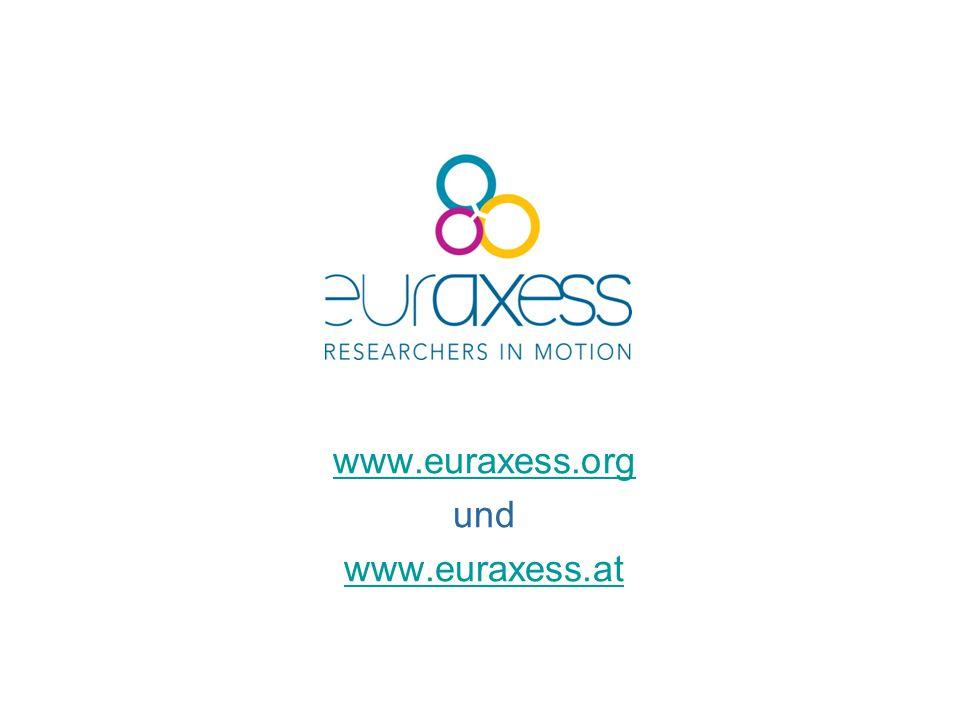 www.euraxess.org und www.euraxess.at