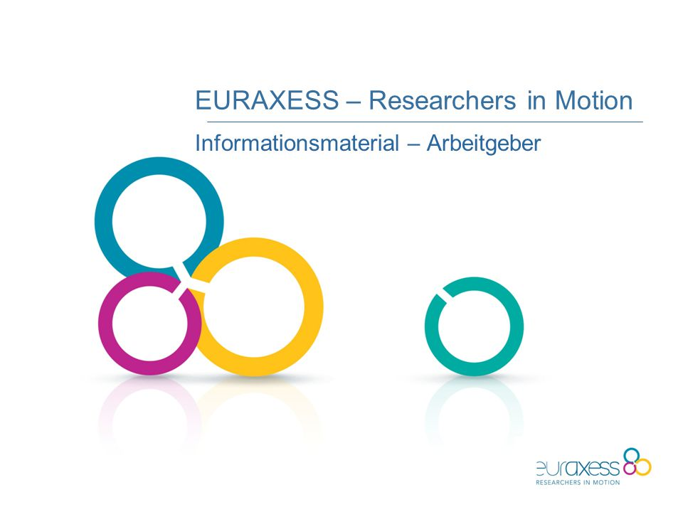 EURAXESS – Researchers in Motion Informationsmaterial – Arbeitgeber