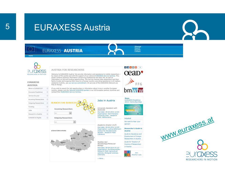 Wie können wir Ihnen helfen? 4 EURAXESS – ein Netzwerk von mehr als 260 Zentren, das Ihnen in ganz Europa jederzeit mit Rat und Tat zur Seite steht.