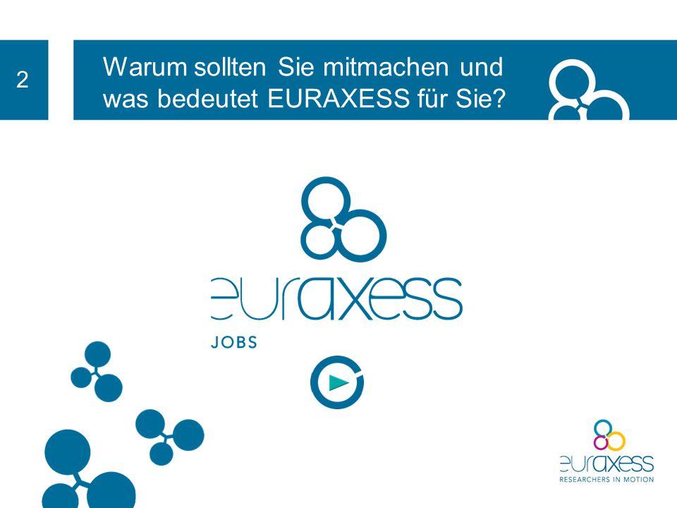 2 EURAXESS ist im Rahmen der folgenden 4 Schlüsselinitiativen aktiv: Beratungsnetzwerk für Forschende, unterstützt Forschende und deren Familien bei d