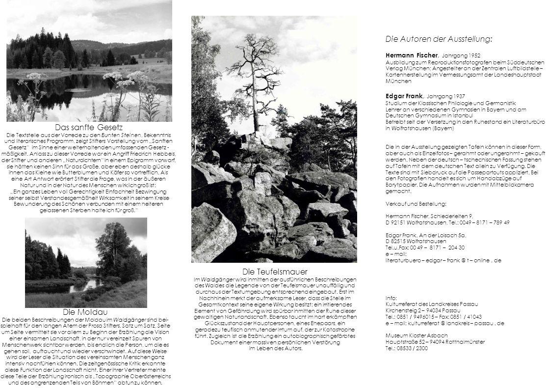 Die Autoren der Ausstellung: Hermann Fischer, Jahrgang 1952 Ausbildung zum Reproduktionsfotografen beim Süddeutschen Verlag München; Angestellter an d