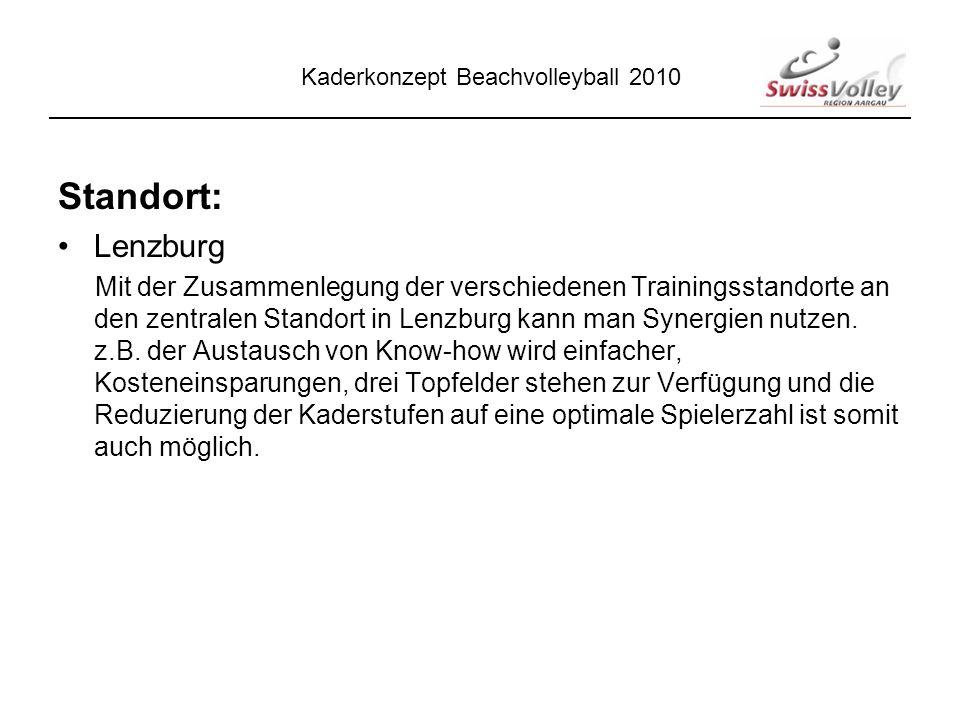 Standort: Lenzburg Mit der Zusammenlegung der verschiedenen Trainingsstandorte an den zentralen Standort in Lenzburg kann man Synergien nutzen.