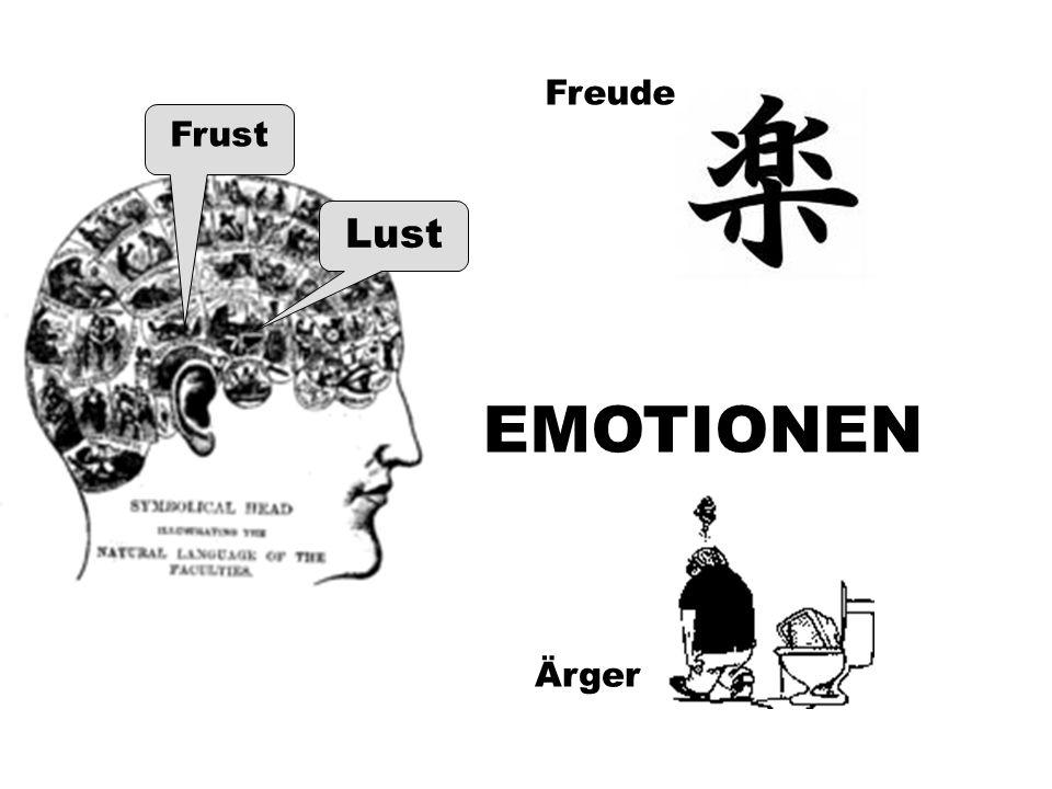 EMOTIONEN Lust Frust Freude Ärger