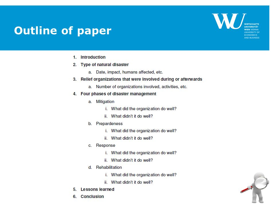 Institut für Österreichisches und Internationales Steuerrecht www.wu.ac.at/taxlaw4 Outline of paper