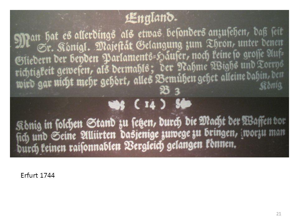 21 Erfurt 1744