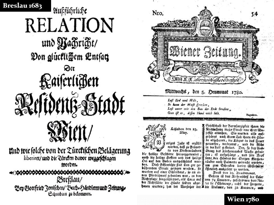 6 Breslau 1683 Wien 1780