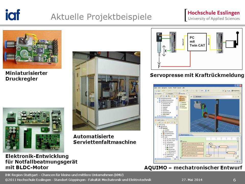 IHK Region Stuttgart – Chancen für kleine und mittlere Unternehmen (KMU) 27.