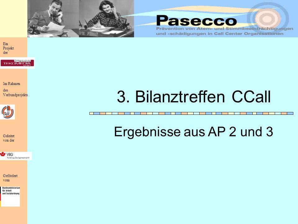 Ein Projekt der Im Rahmen des Verbundprojekts Geleitet von der Gefördert vom Ergebnisse aus AP 2 und 3 3.