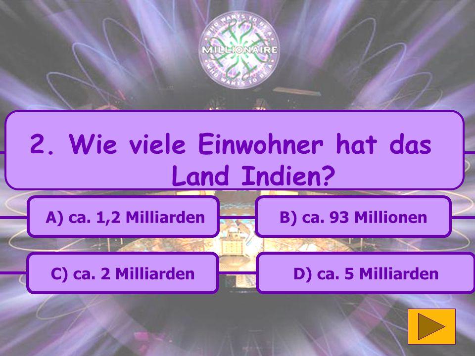B.Richtige Antwort 12. Hier die Frage formulieren A.