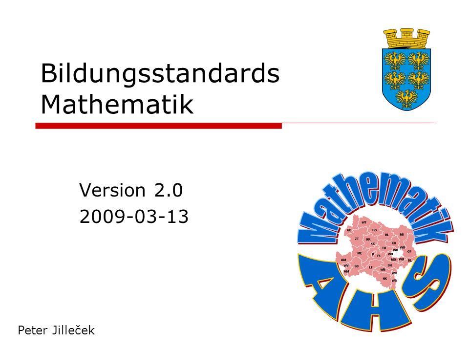 Bildungsstandards Mathematik Handlungsbereiche (II)