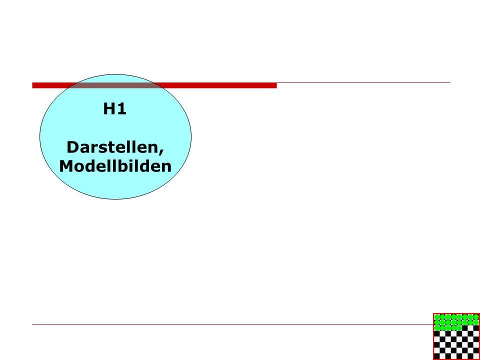 H1 Darstellen, Modellbilden