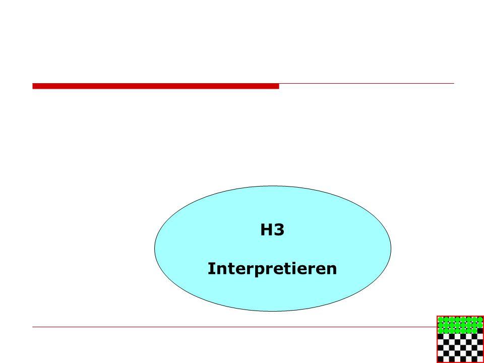H3 Interpretieren