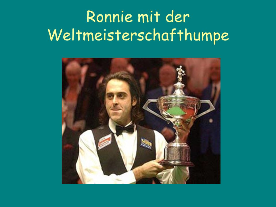 Wunderbarer Ronnie The Rocket ist sehr kontrovers