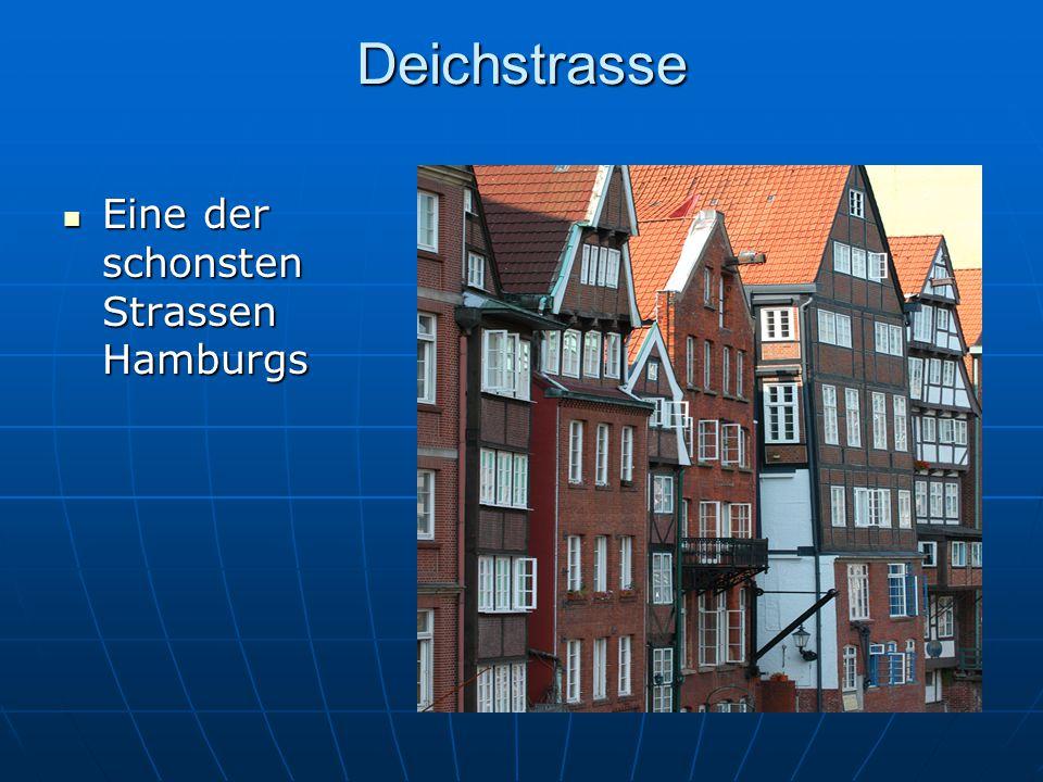 Deichstrasse Eine der schonsten Strassen Hamburgs Eine der schonsten Strassen Hamburgs