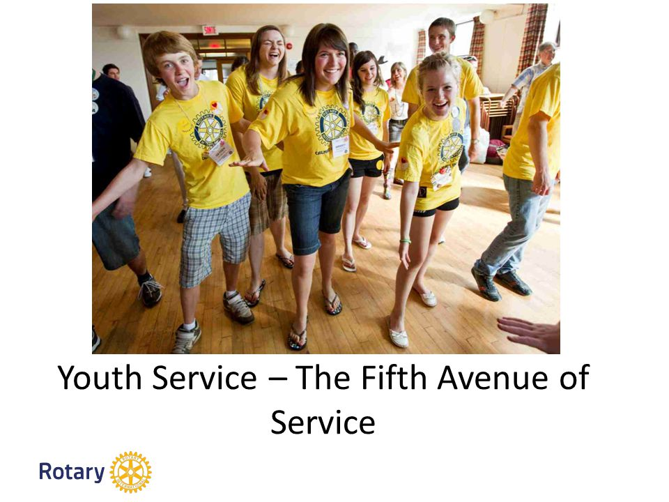 Youth Service – The Fifth Avenue of Service