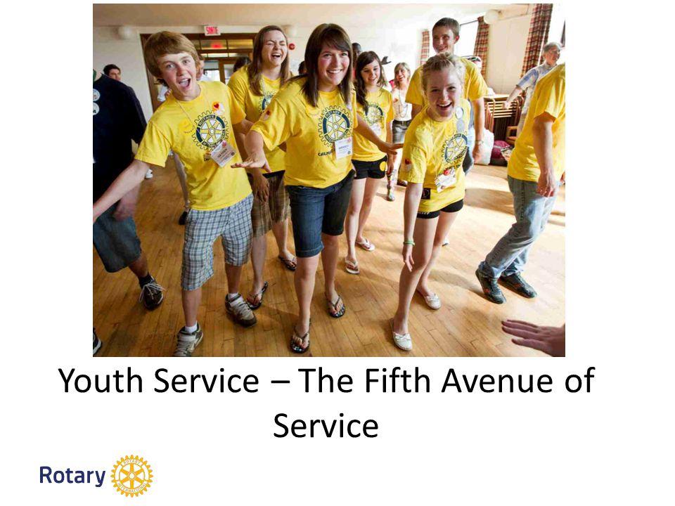Unsere Programme für den Führungsnachwuchs Interact 12-18 Rotaract 18-30 Rotary Youth Exchange 15-19 New Generations Service Exchange Rotary Youth Leadership Awards (RYLA)