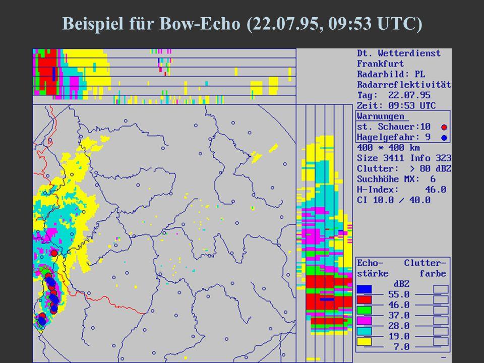 9 Beispiel für Bow-Echo (22.07.95, 09:53 UTC)