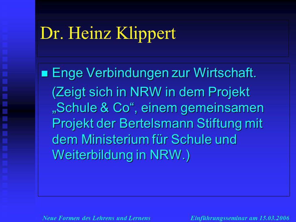 Neue Formen des Lehrens und LernensEinführungsseminar am 15.03.2006 Was führt zu diesen Belastungen.