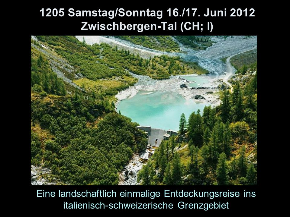 1205 Samstag/Sonntag 16./17.