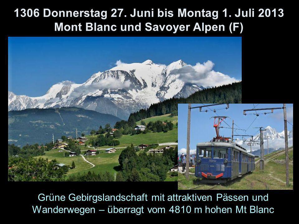 1306 Donnerstag 27. Juni bis Montag 1.