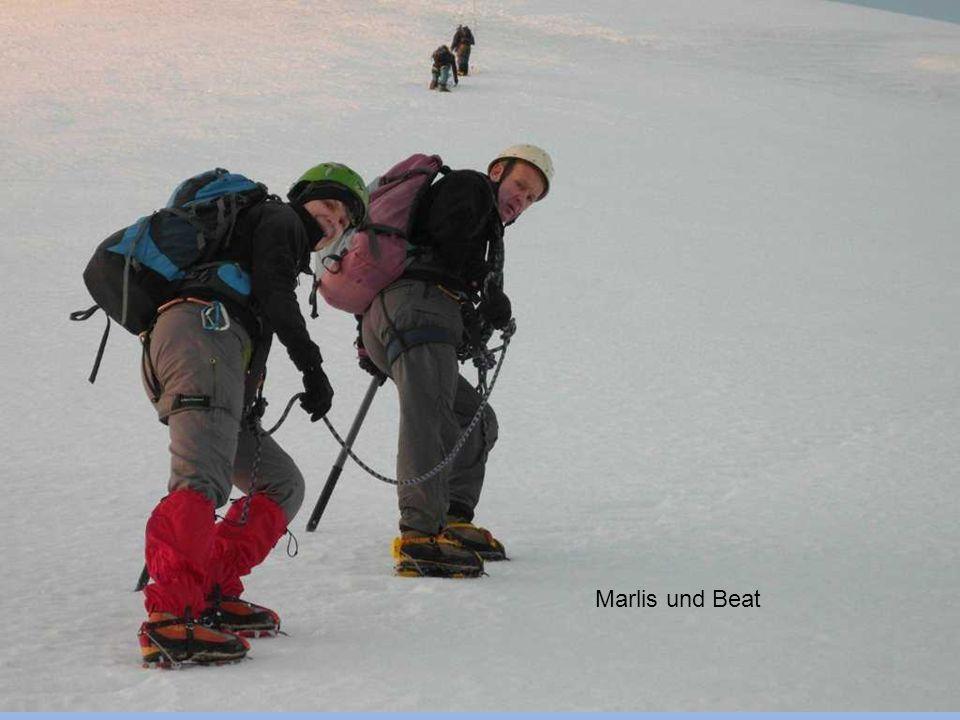 Aufstieg zum Morgenhorn (3627m)