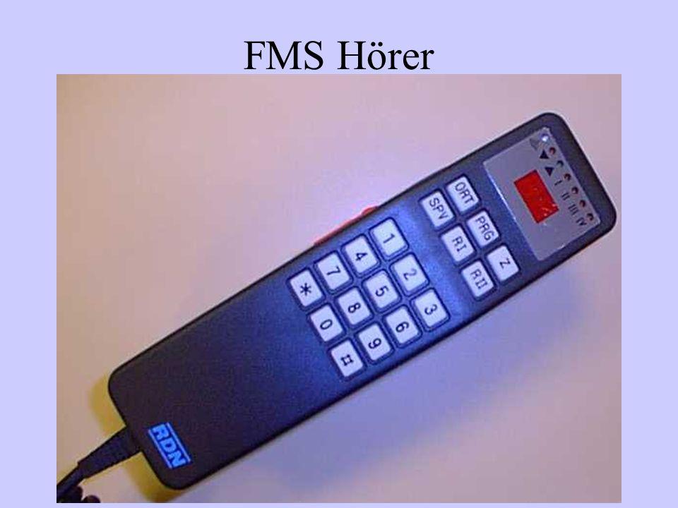 FMS Statusmeldungen 1einsatzbereit über Funk erreichbar 2einsatzbereit am Standort 3Gerätehaus ab zum Einsatz 4am Einsatzort eingwetroffen 5Sprechwunsch 6nicht einsatzbereit 7wird in Ulm nicht geführt 8wird in Ulm nicht geführt 9wird in Ulm nicht geführt 0Notruf