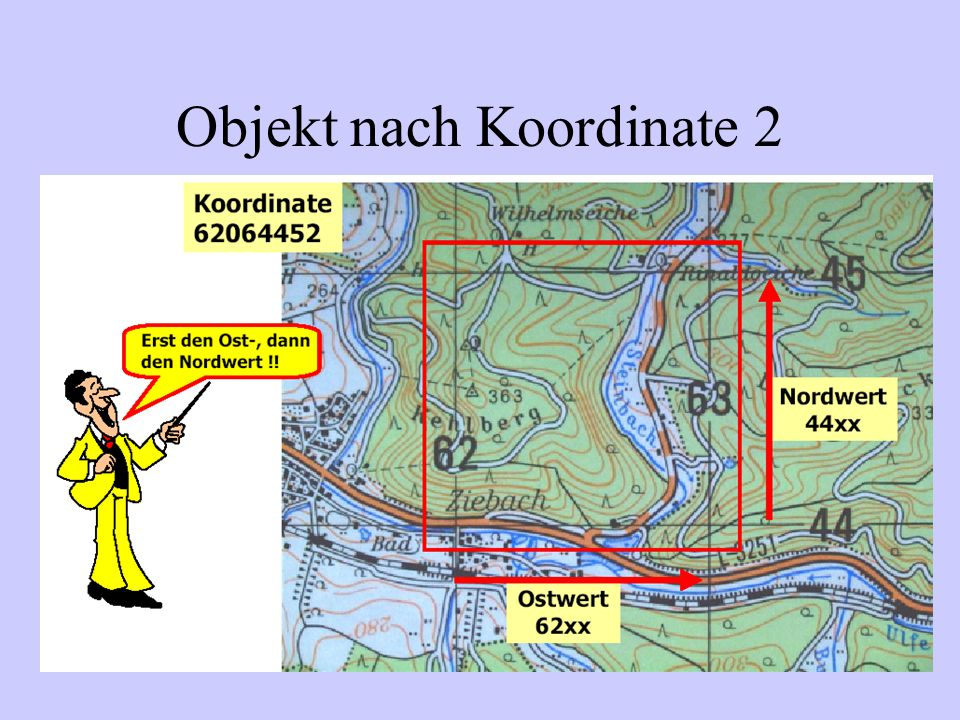 Objekt nach Koordinate 3