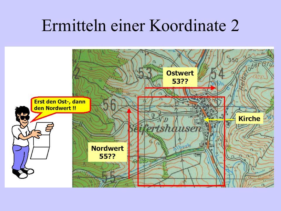 Ermitteln einer Koordinate 3