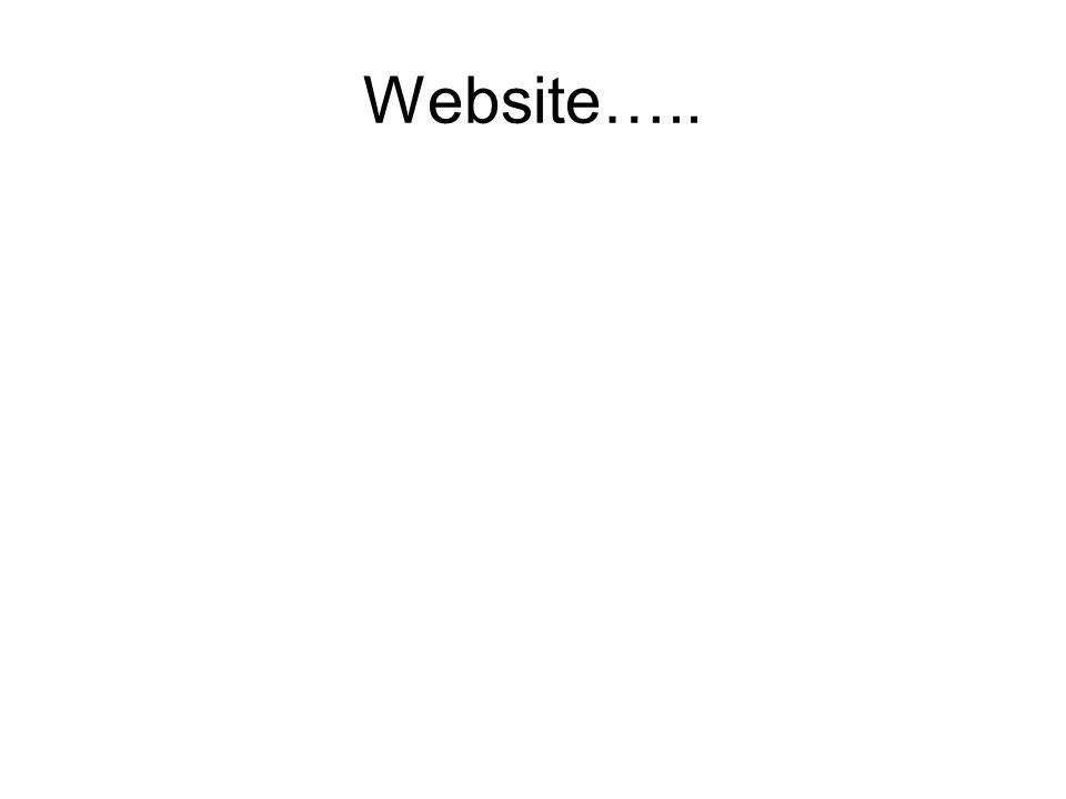 Website…..