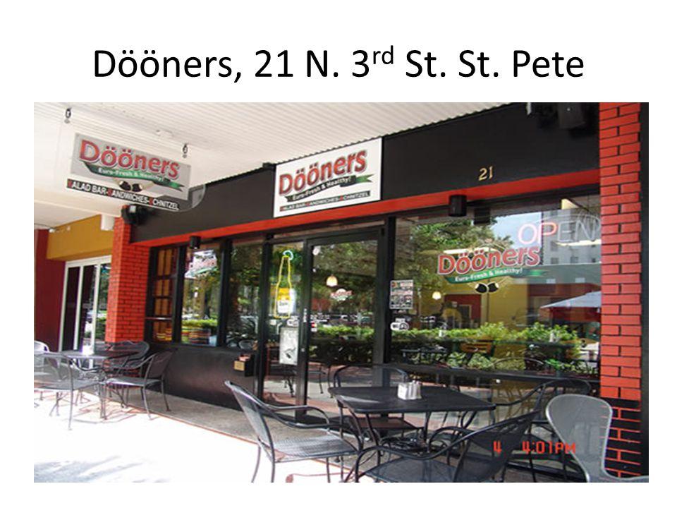 Dööners, 21 N. 3 rd St. St. Pete