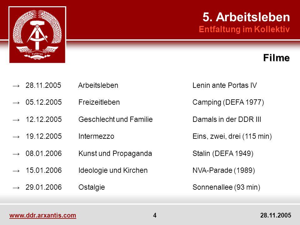 www.ddr.arxantis.com 15 28.11.2005 5.