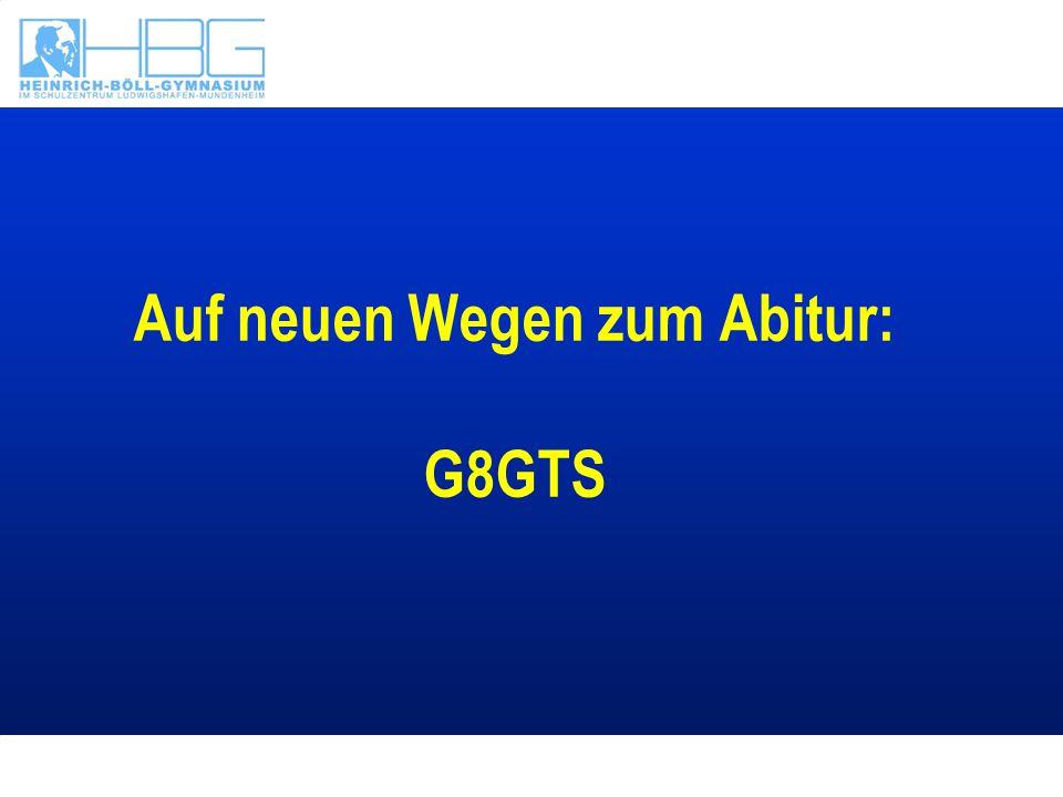 G8 bedeutet nicht Kopie der Modelle anderer Bundesländer Turbo-Abitur Leistungsdruck Hausaufgaben am Abend