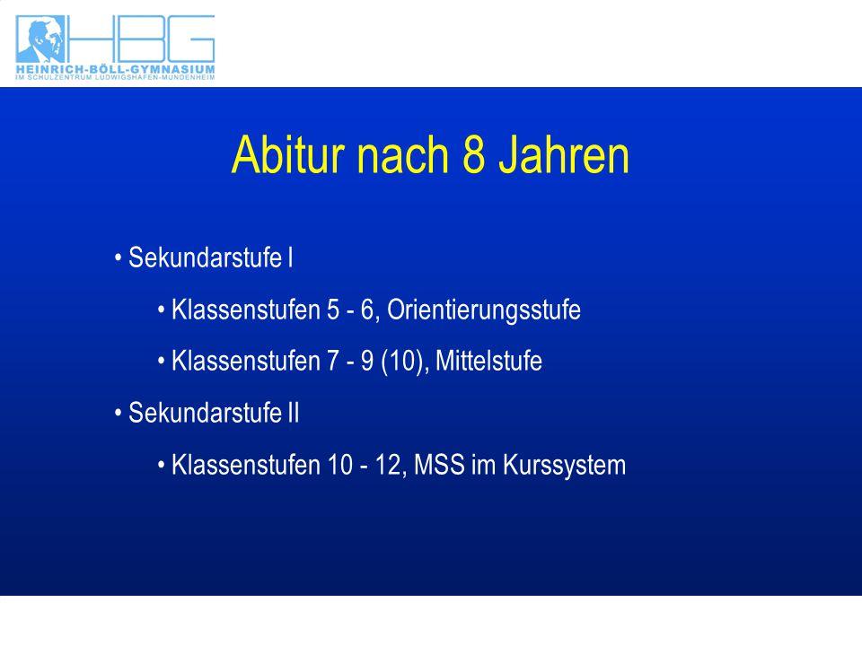 Ganztagsschule GTS in Angebotsform in Klassenstufen 5 - 6 GTS verpflichtend in Klassenstufen 7 - 9 MSS wie bisher im Kurssystem Verlässliche Unterrichtszeiten im Ganztagsbetrieb Mo - Do: 7:55 - 16:25 Uhr Fr: 7:55 - 13:00 Uhr
