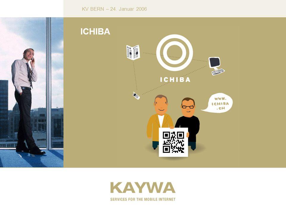 KV BERN – 24. Januar 2006 ICHIBA
