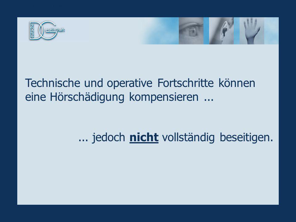 In Deutschland sind mehr als 300.000 Hörgeschädigte vom Fernsehangebot ausgeschlossen.