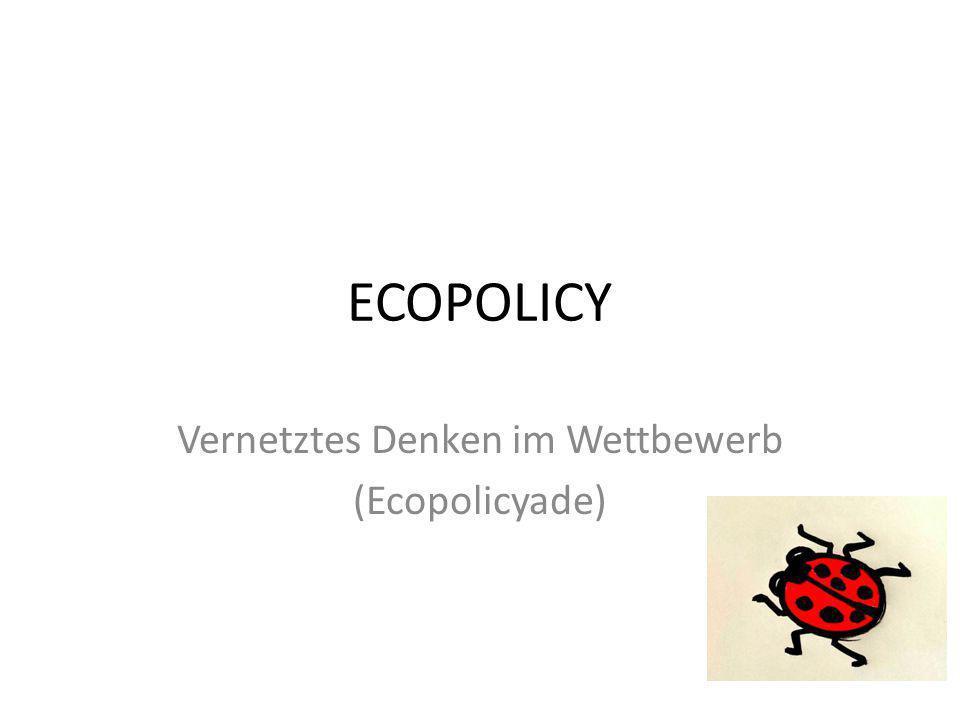 ECOPOLICY Vernetztes Denken im Wettbewerb (Ecopolicyade)