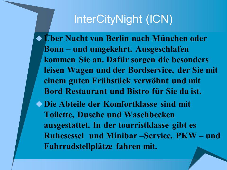 CityNightLine (CNL) Mit Hotelkomfort unterwegs, Frühstück inklusive: zwischen Dortmund/ Köln und Wien bzw.